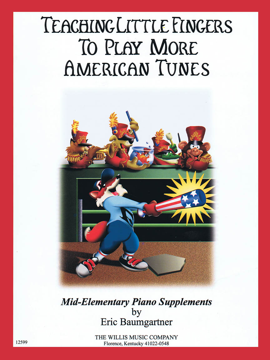 Product Cover for Teaching Little Fingers to Play More American Tunes – Book only