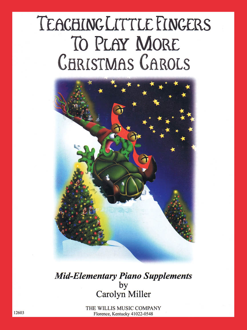Product Cover for Teaching Little Fingers to Play More Christmas Carols