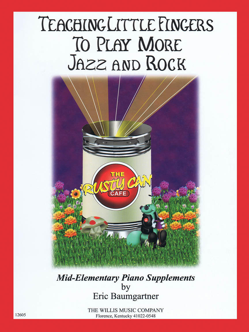 Product Cover for Teaching Little Fingers to Play More Jazz and Rock