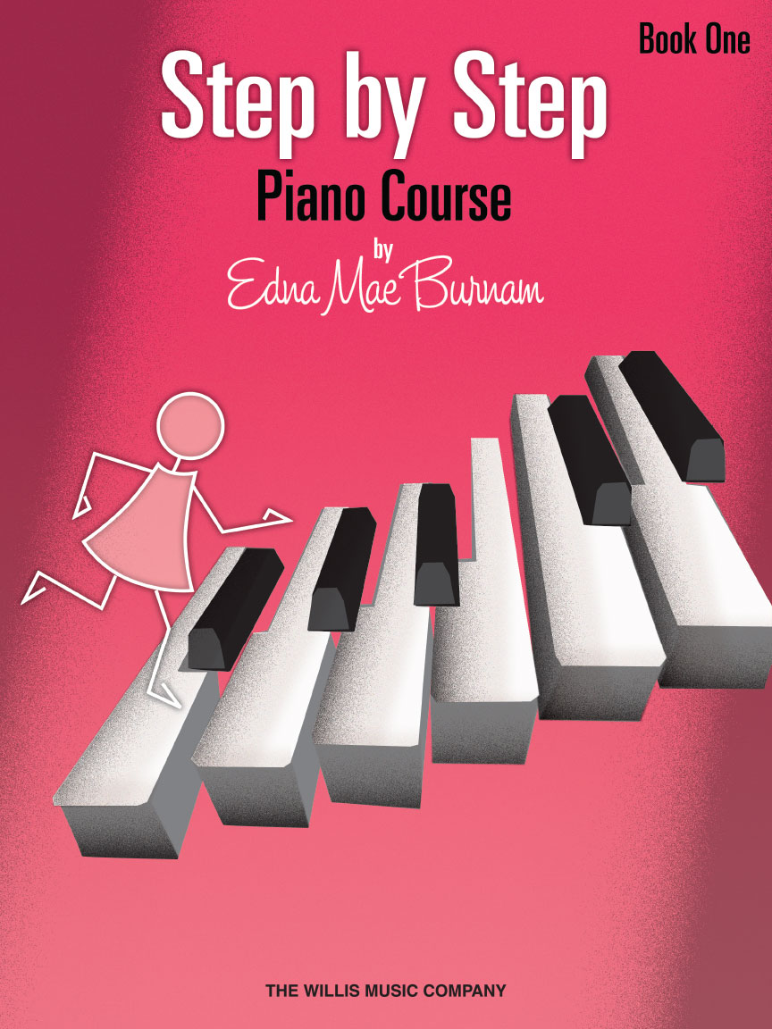 Product Cover for Step by Step Piano Course – Book 1