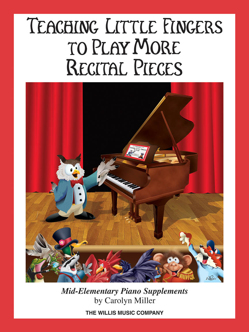 Product Cover for Teaching Little Fingers to Play More Recital Pieces
