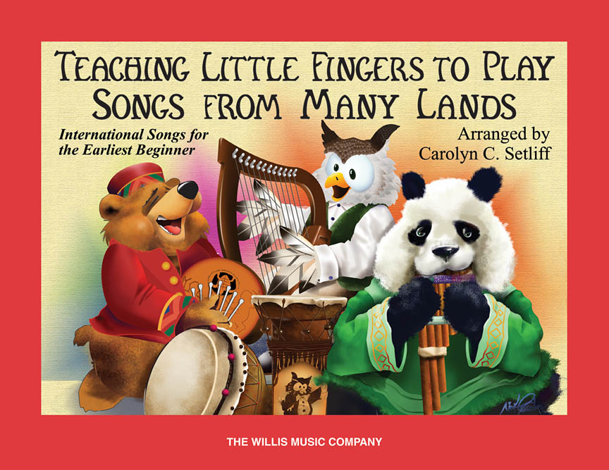 Product Cover for Teaching Little Fingers to Play Songs From Many Lands