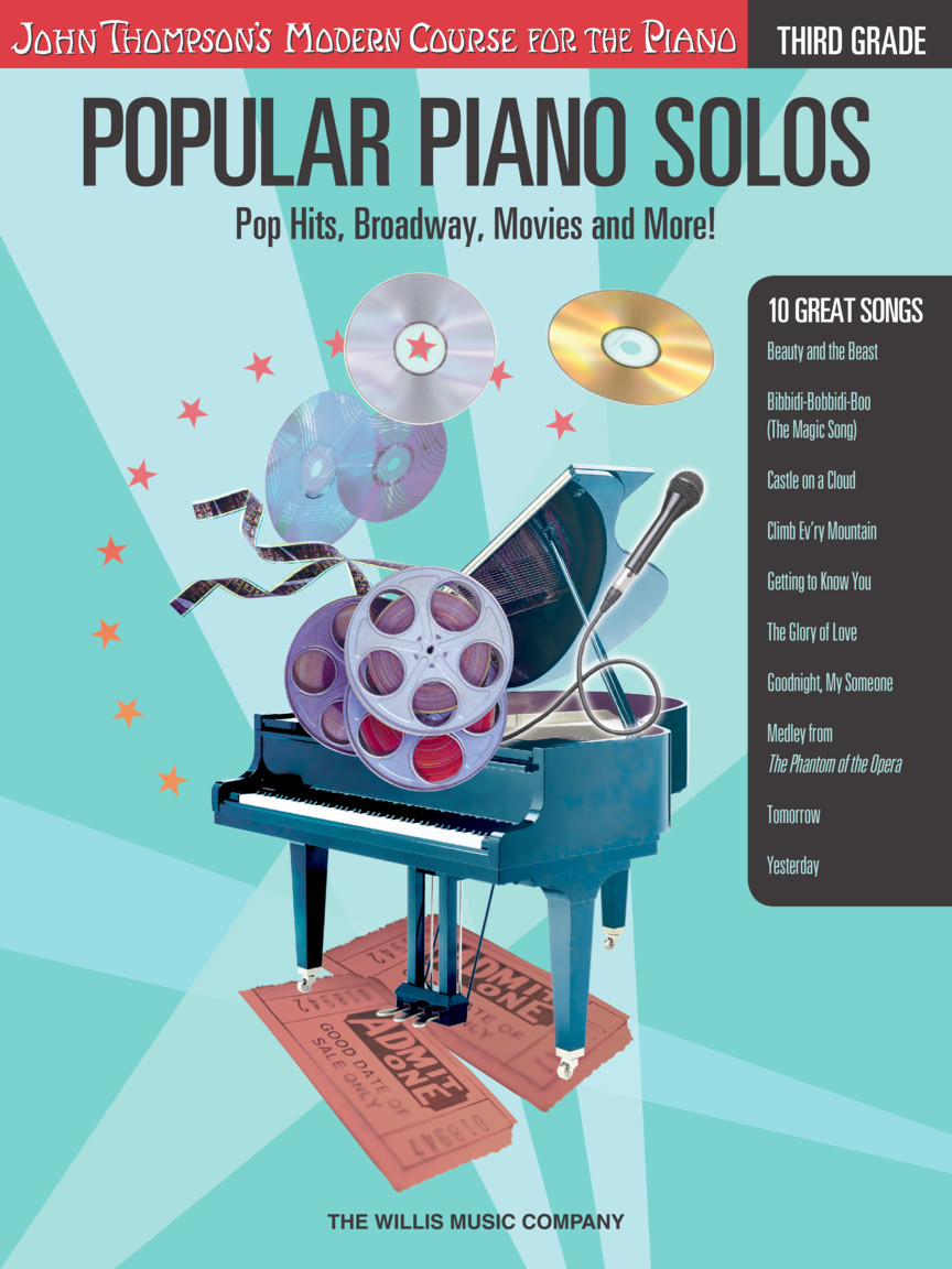 Product Cover for Popular Piano Solos – Grade 3