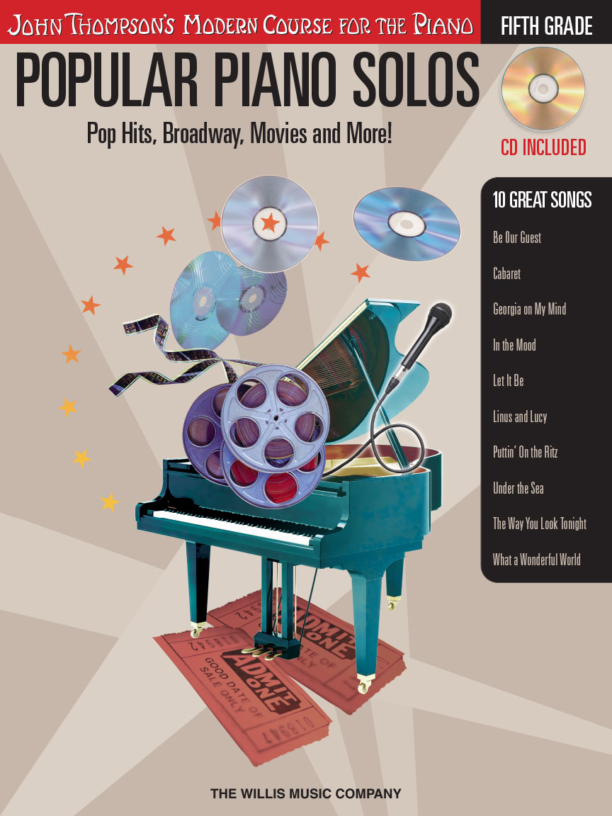 Product Cover for Popular Piano Solos – Grade 5