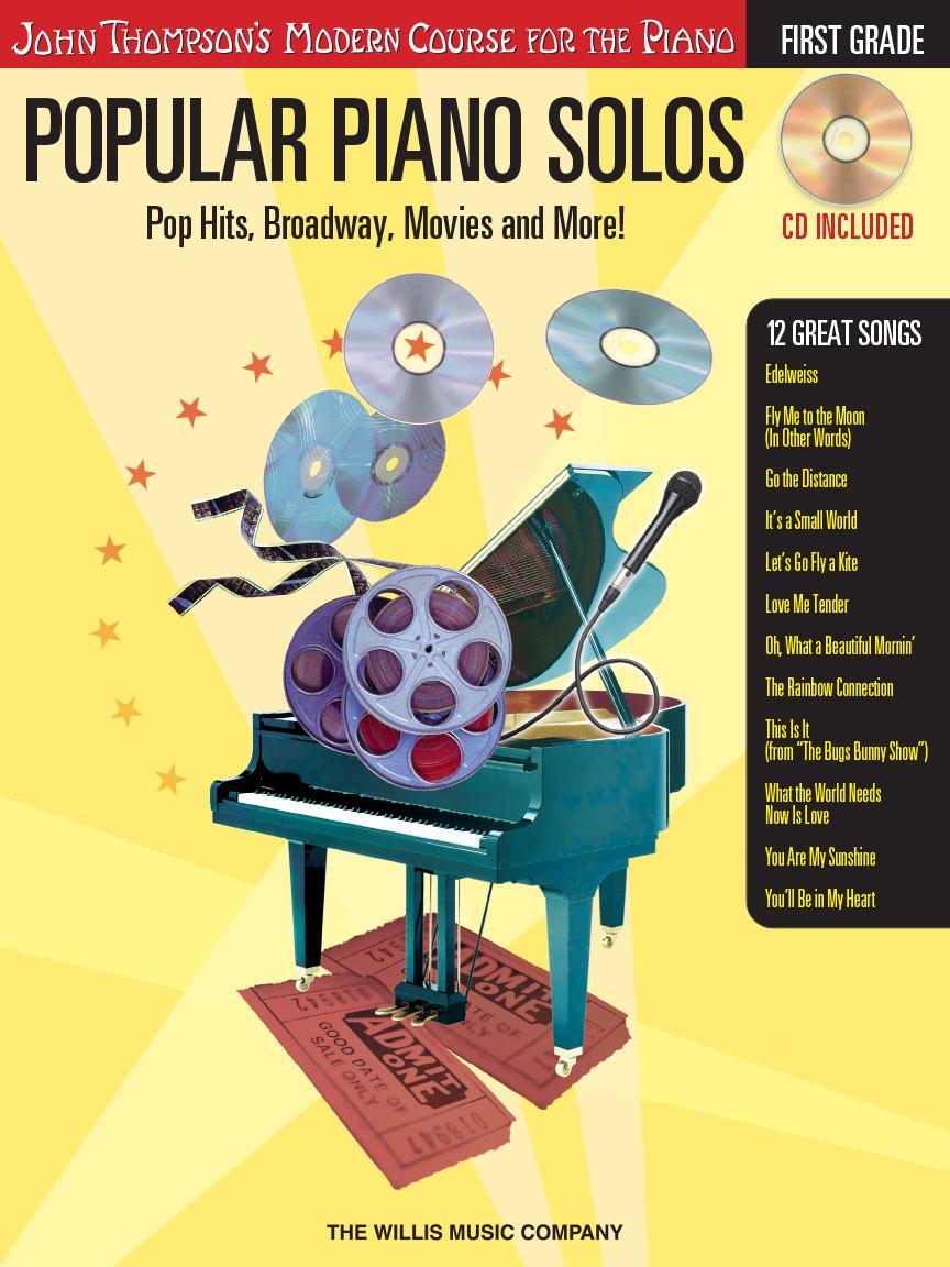 Popular Piano Solos – Grade 1 – Book/Online Audio