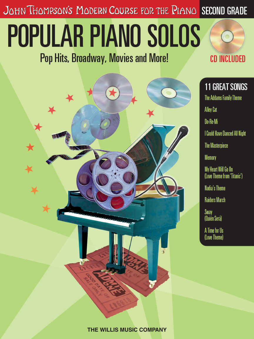 Popular Piano Solos – Grade 2 – Book/Audio