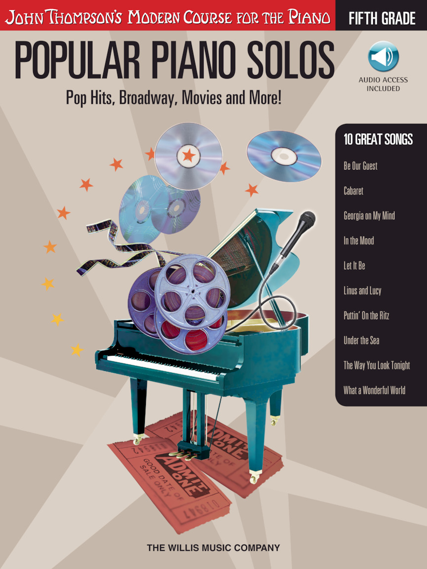 Popular Piano Solos – Grade 5 – Book/Audio