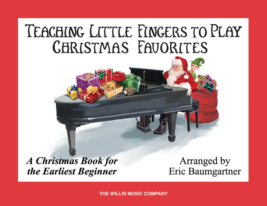 Product Cover for Teaching Little Fingers to Play Christmas Favorites – Book Only