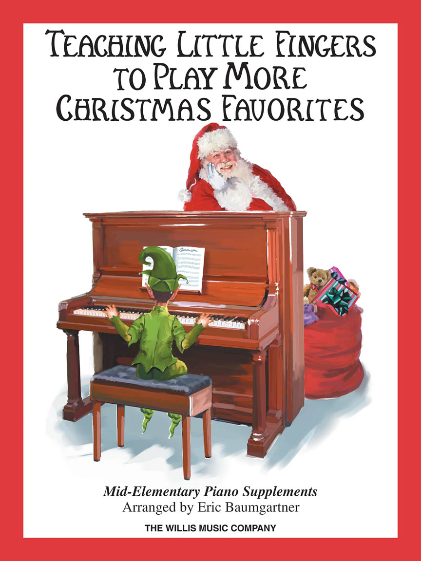 Product Cover for Teaching Little Fingers to Play More Christmas Favorites – Book Only