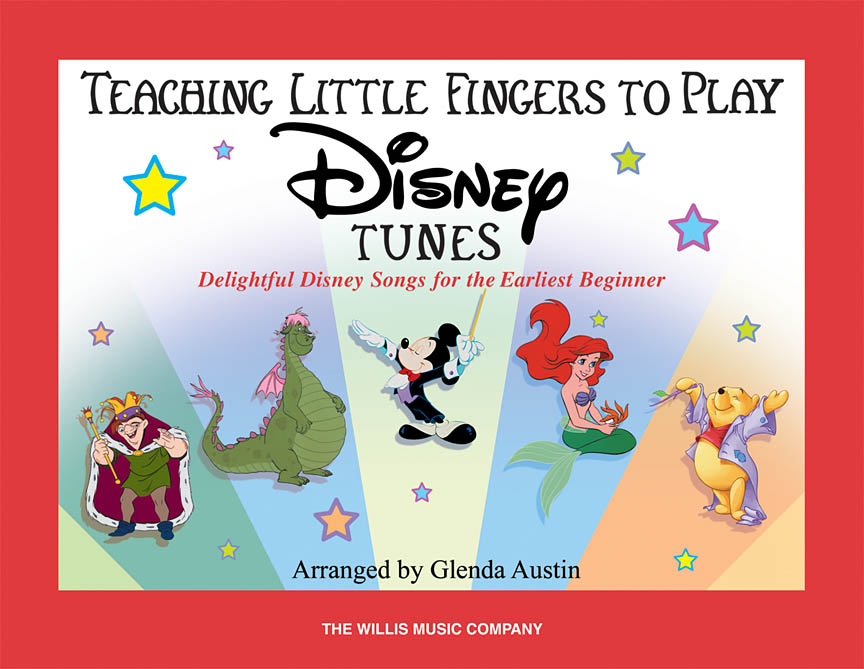 Product Cover for Teaching Little Fingers to Play Disney Tunes