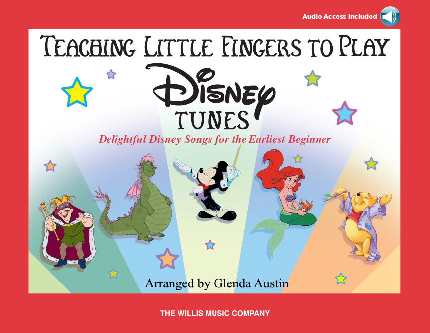 Product Cover for Teaching Little Fingers to Play Disney Tunes (Bk/Audio)