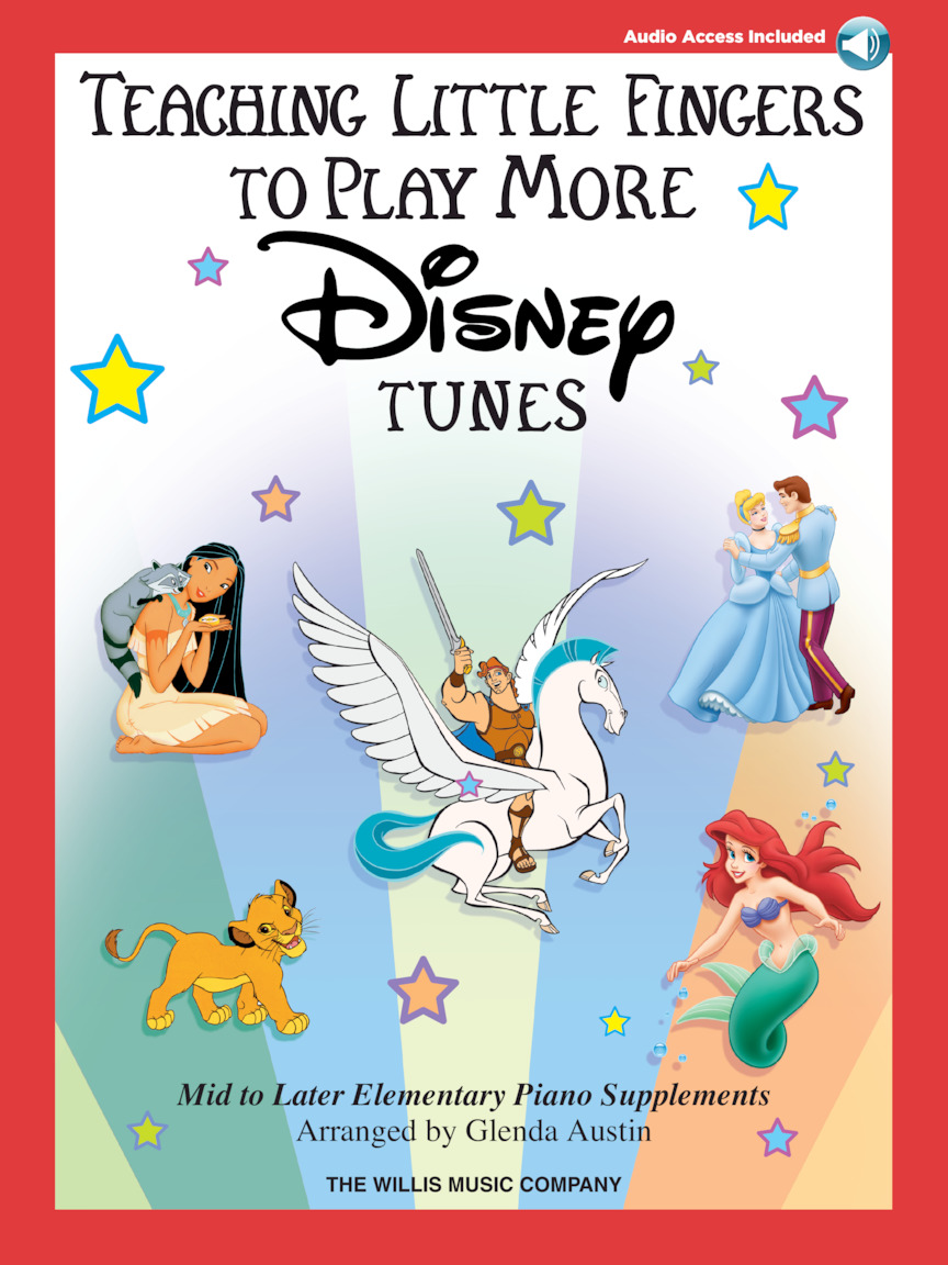 Product Cover for Teaching Little Fingers to Play More Disney Tunes