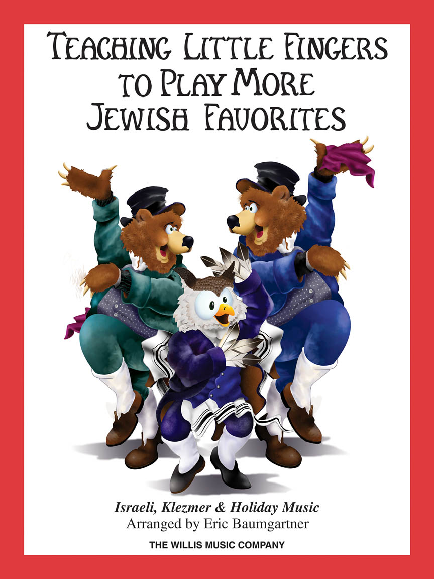 Product Cover for Teaching Little Fingers to Play More Jewish Favorites