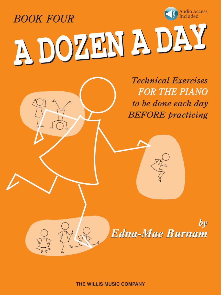 Product Cover for A Dozen a Day Book 4 – Book/Online Audio