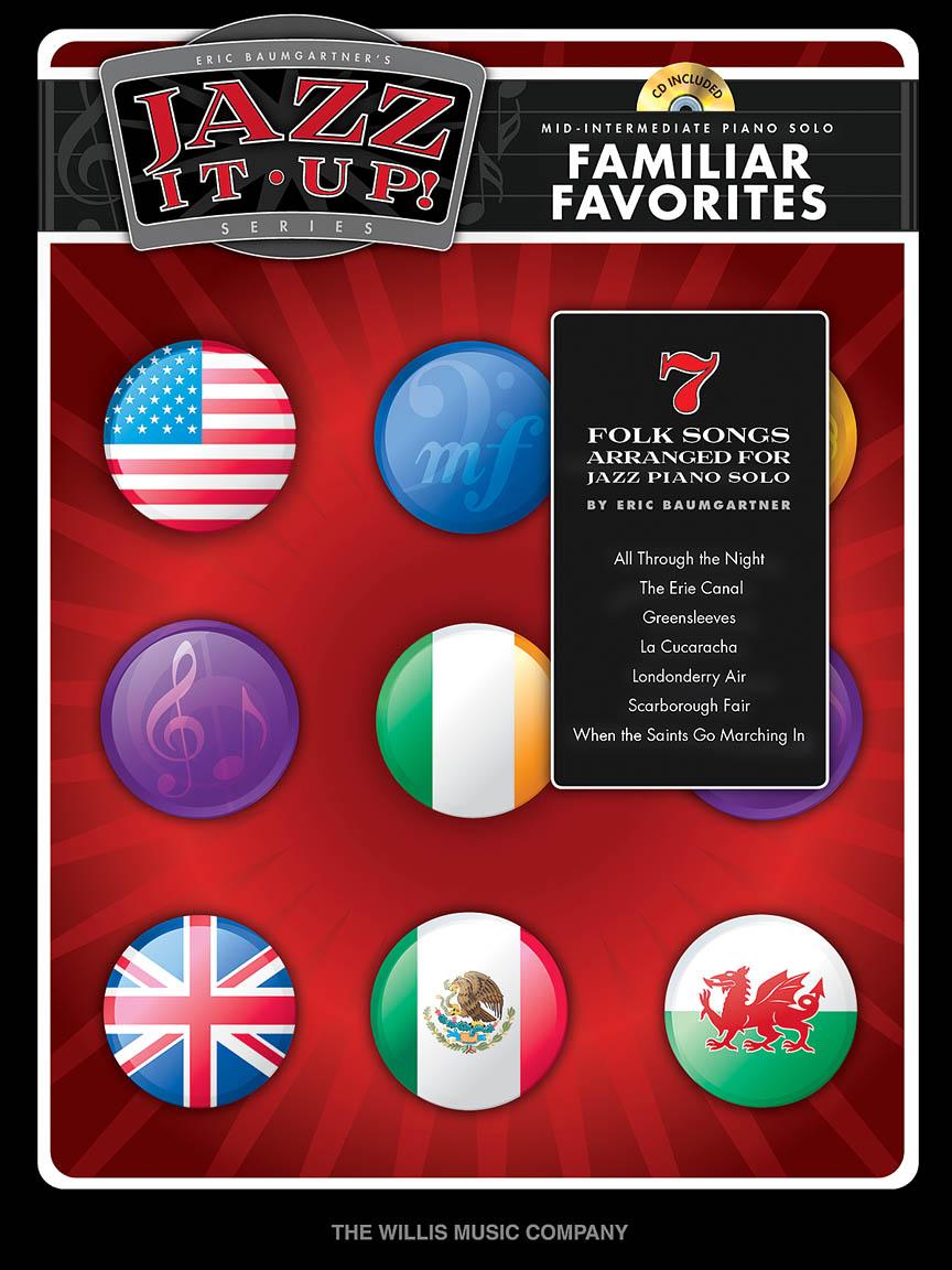 Product Cover for Eric Baumgartner's Jazz It Up! – Familiar Favorites – Book/CD