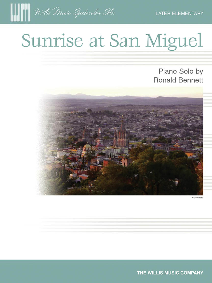 Product Cover for Sunrise at San Miguel