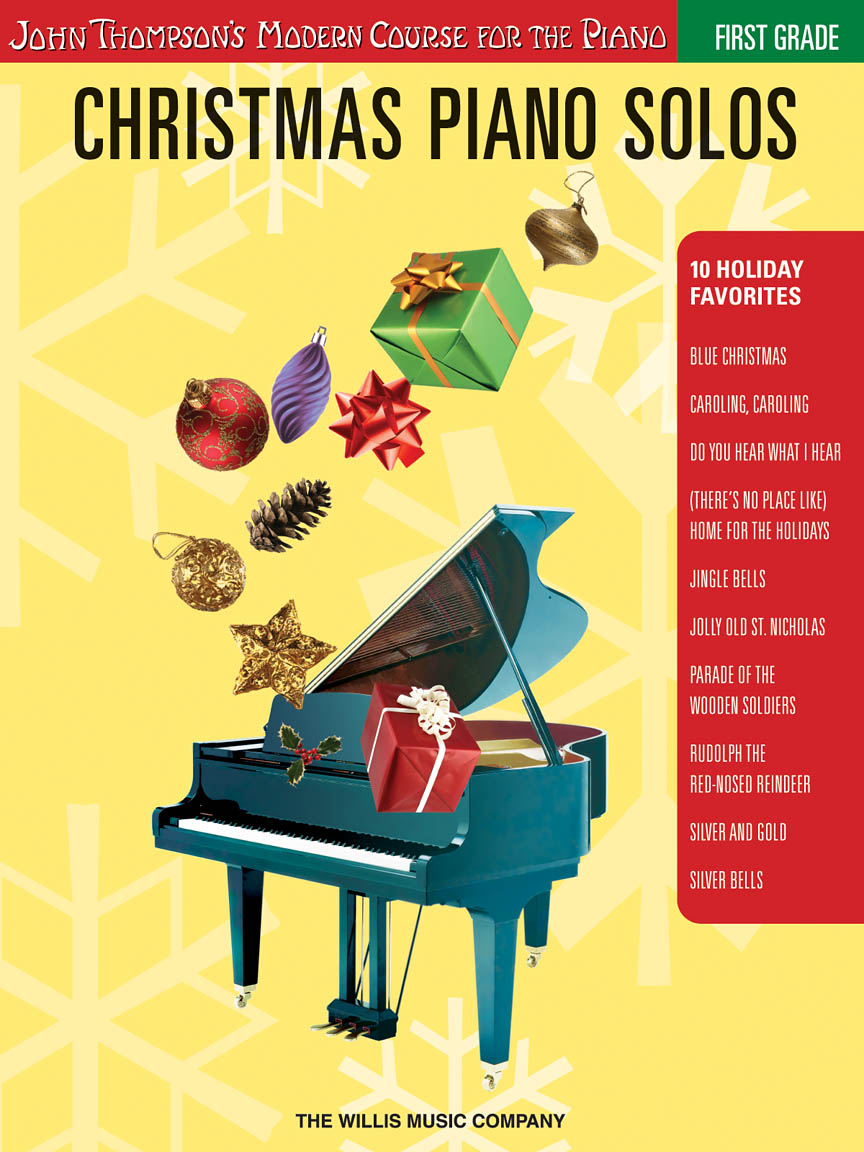 Christmas Piano Solos – First Grade (Book Only)