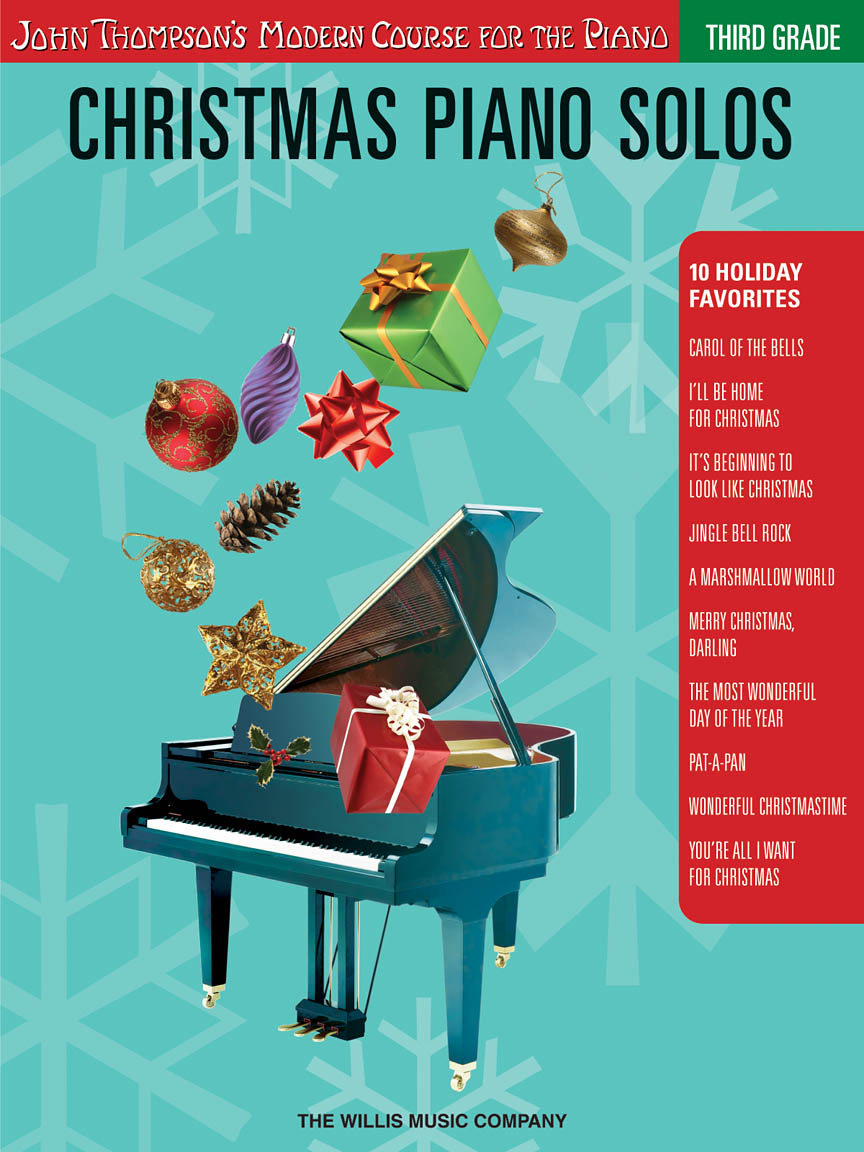 Product Cover for Christmas Piano Solos – Third Grade (Book/CD Pack)