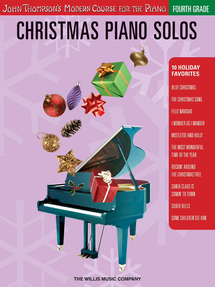 Christmas Piano Solos – Fourth Grade (Book/CD Pack)