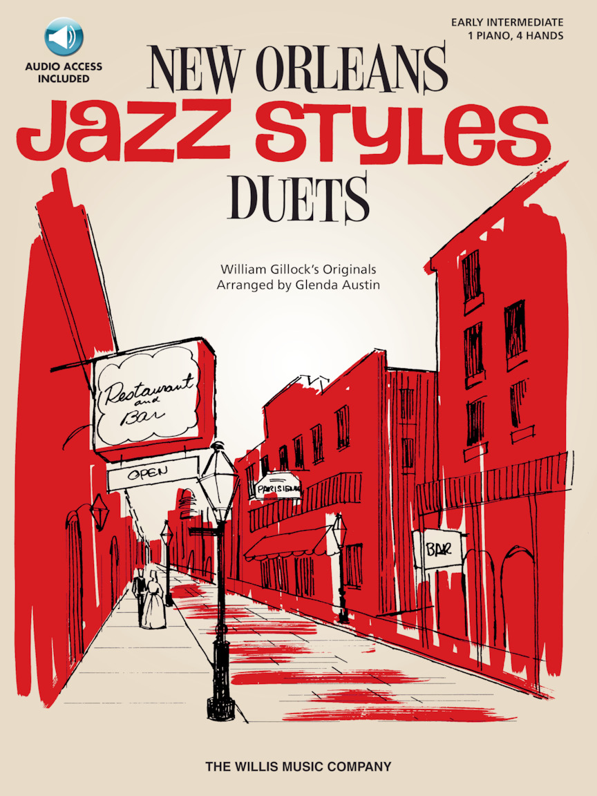 Product Cover for New Orleans Jazz Styles Duets – Book/Online Audio