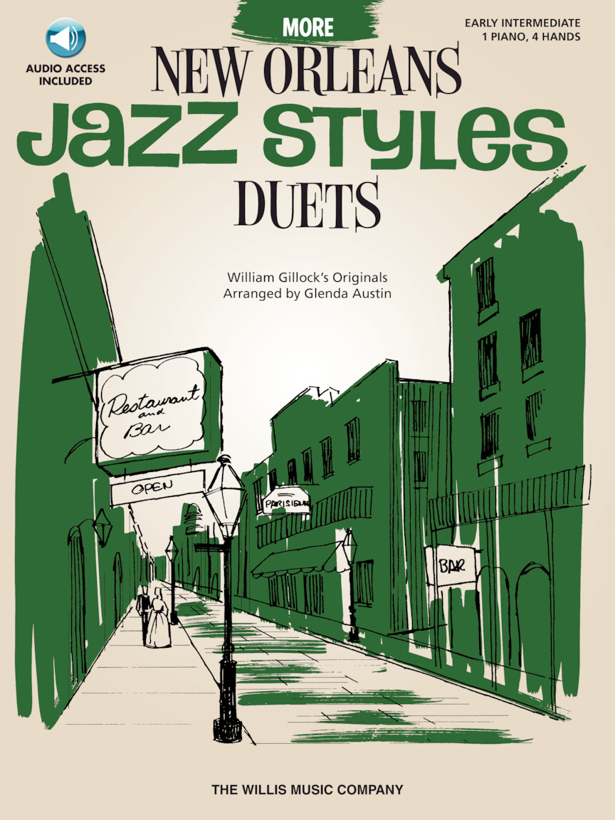 Product Cover for More New Orleans Jazz Styles Duets – Book/Audio