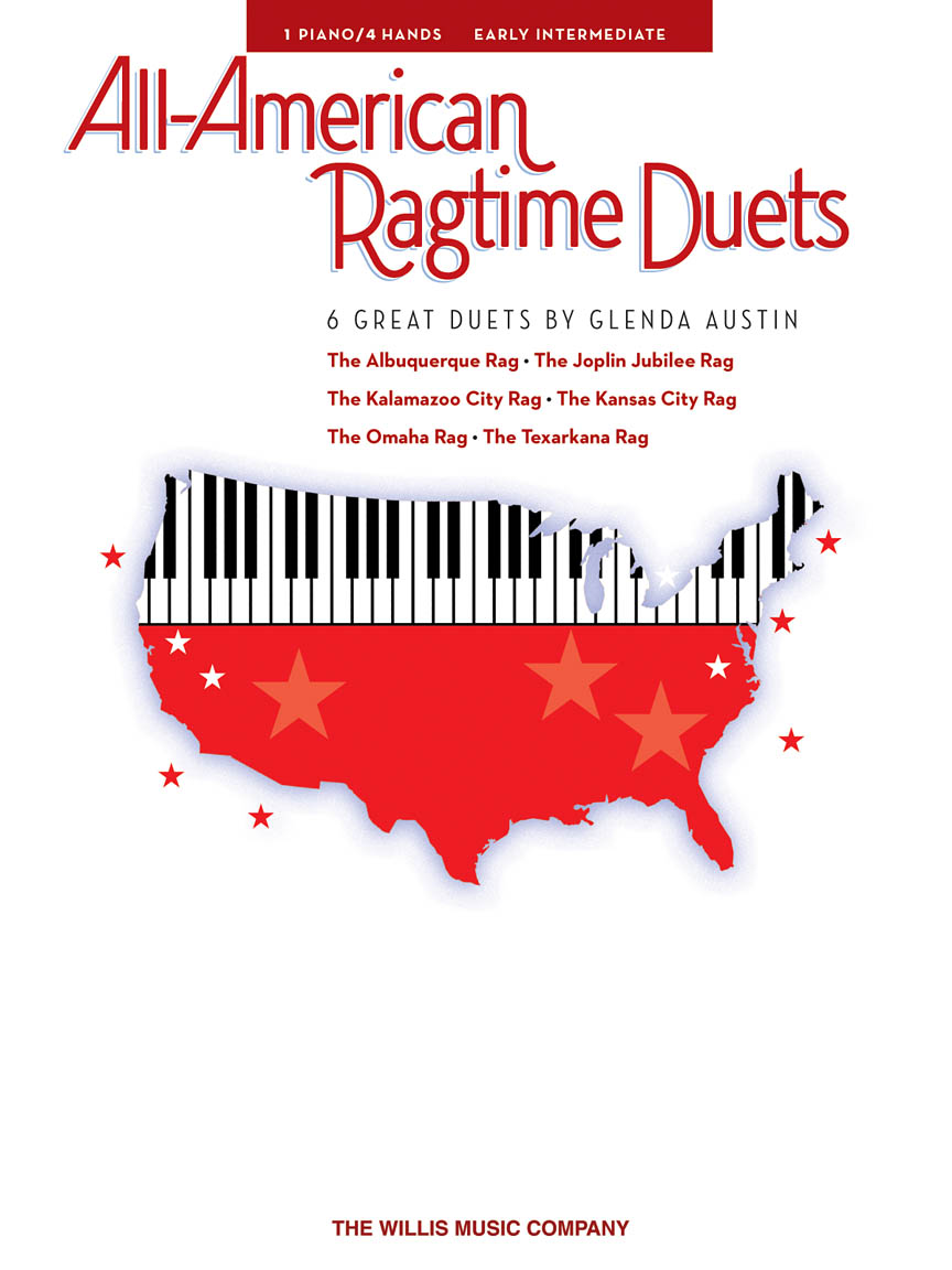 Product Cover for All-American Ragtime Duets