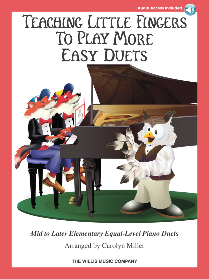 Product Cover for Teaching Little Fingers to Play More Easy Duets