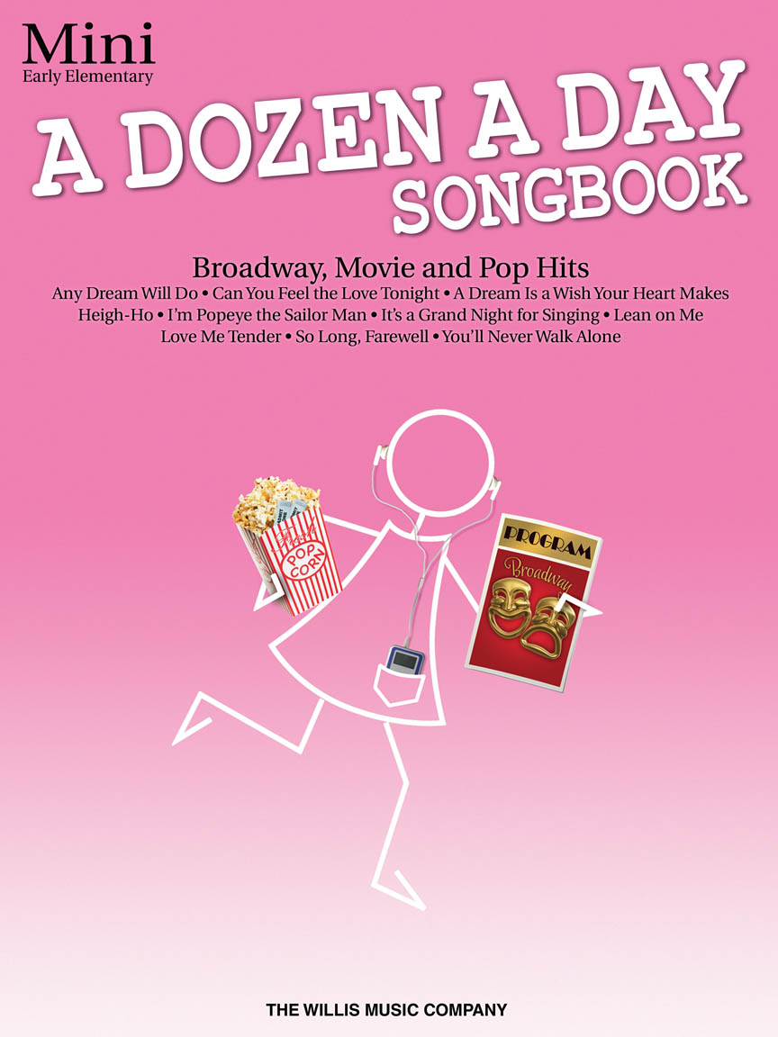 Product Cover for A Dozen a Day Songbook – Mini