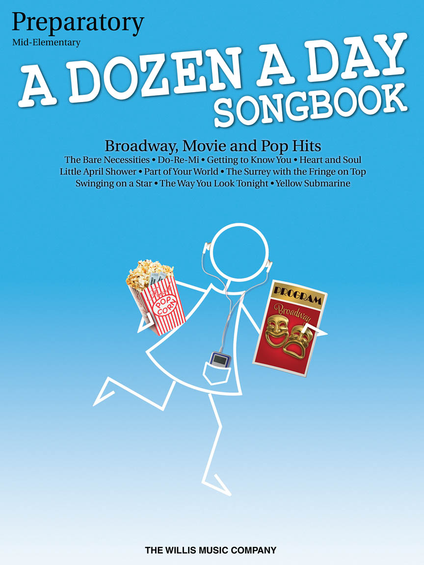 A Dozen a Day Songbook – Preparatory Book