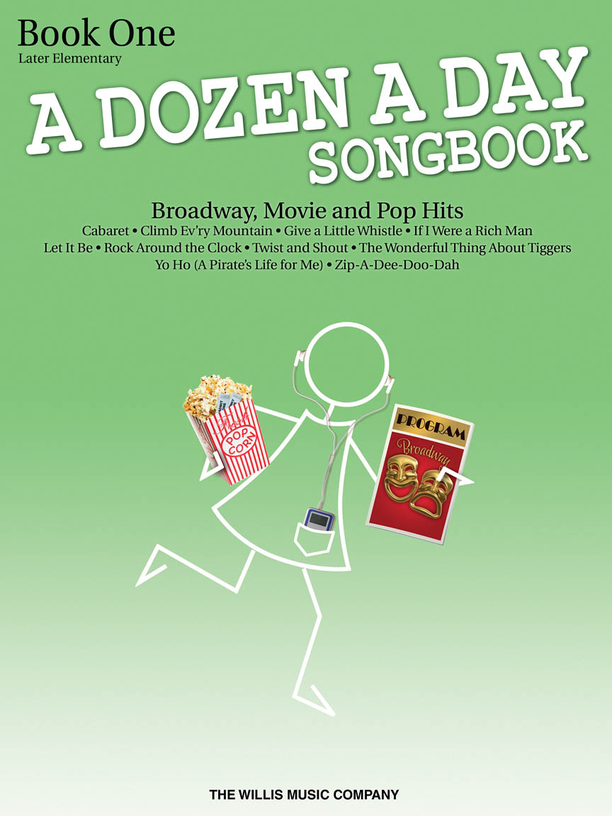 Product Cover for A Dozen a Day Songbook – Book 1