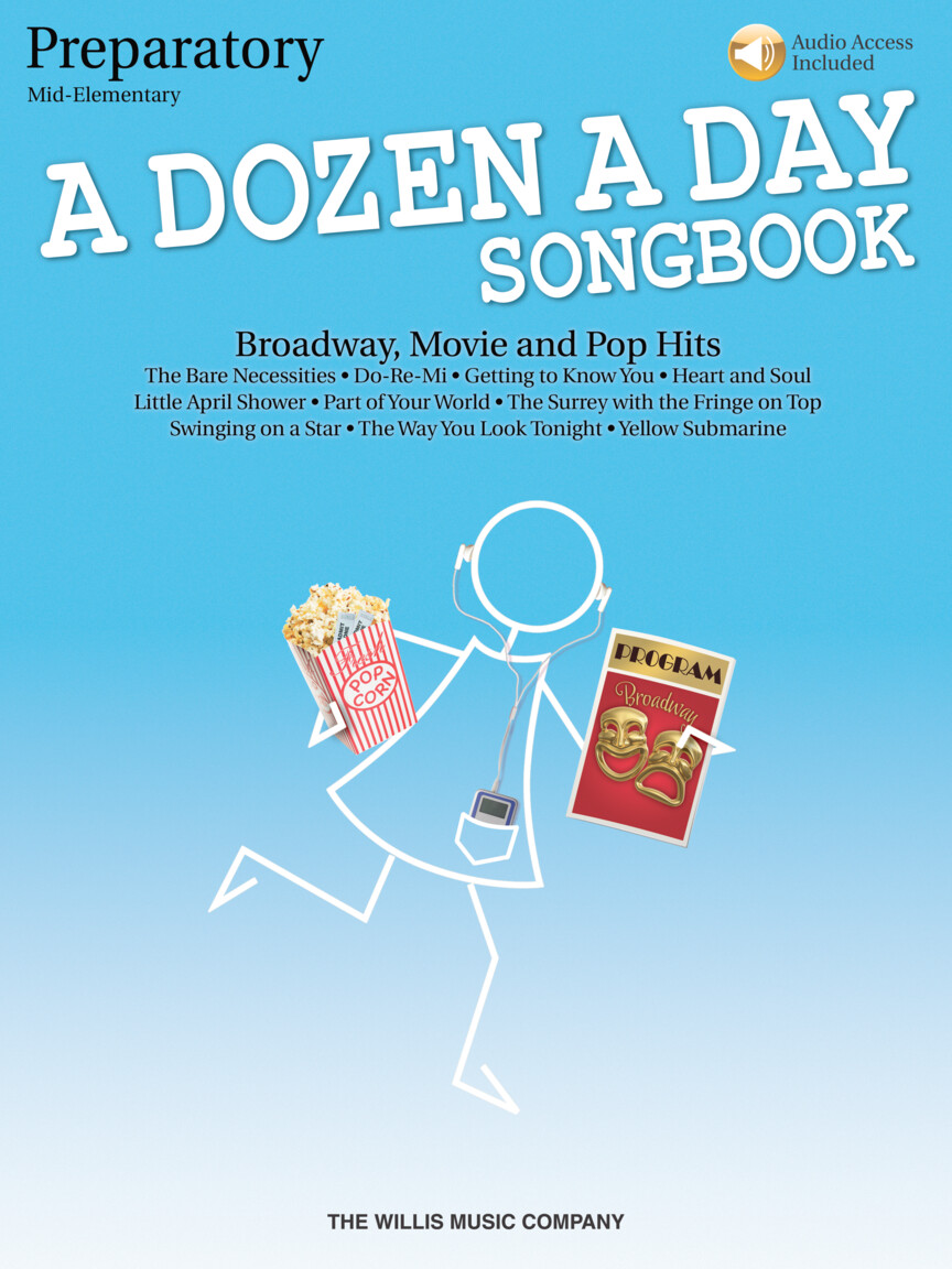 Product Cover for A Dozen a Day Songbook – Preparatory Book