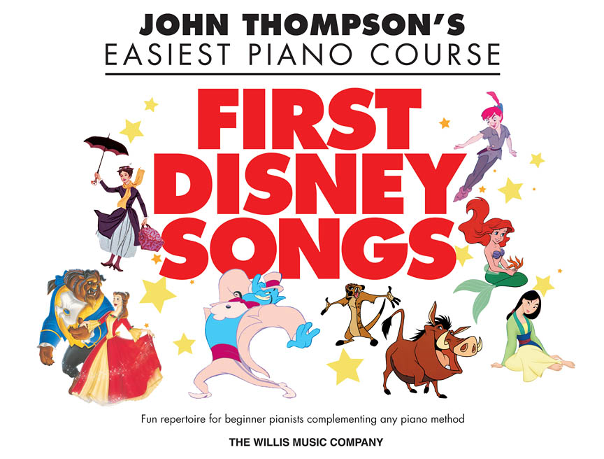 Product Cover for First Disney Songs