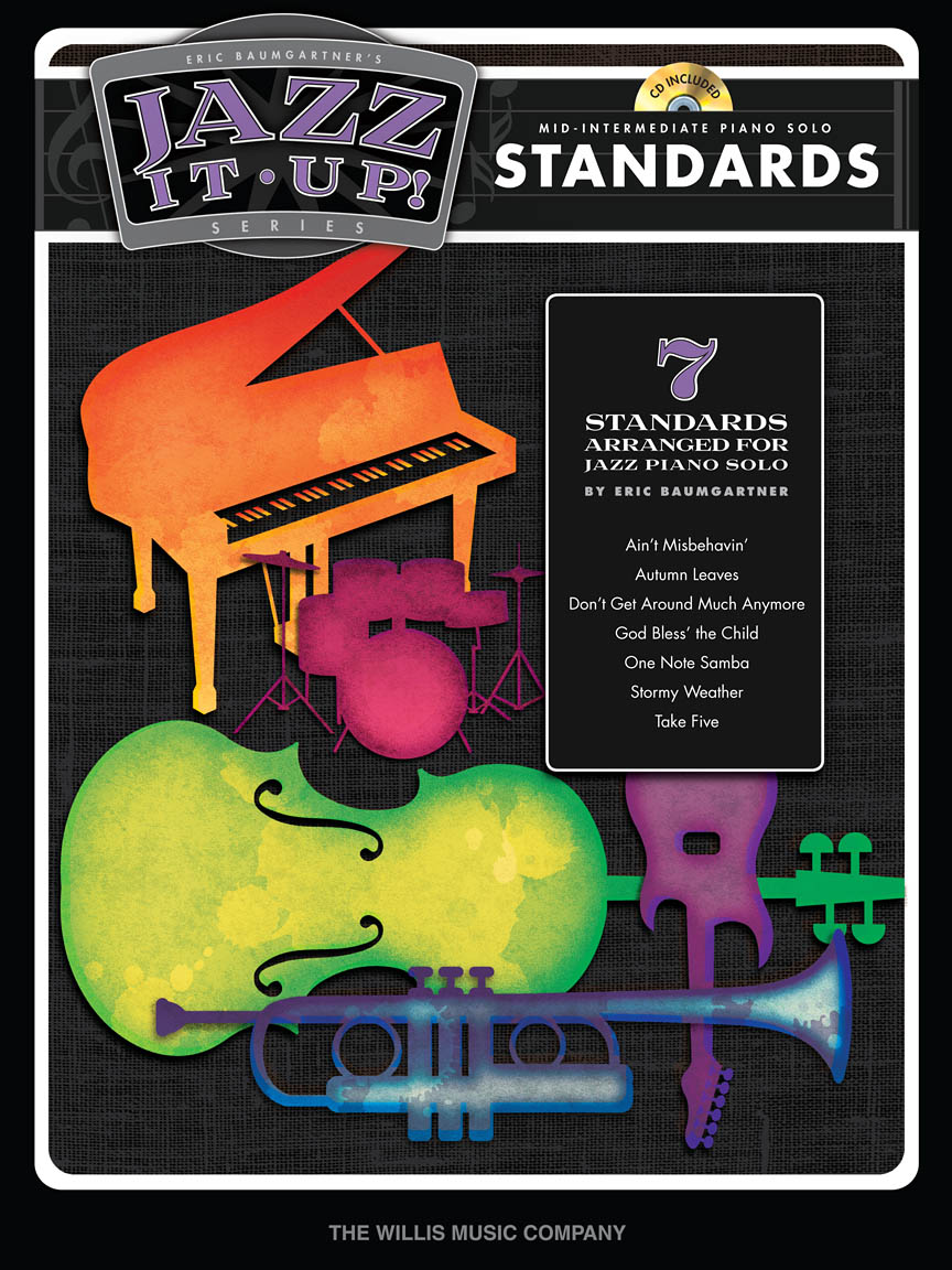 Product Cover for Eric Baumgartner's Jazz It Up! – Standards – Book/Audio