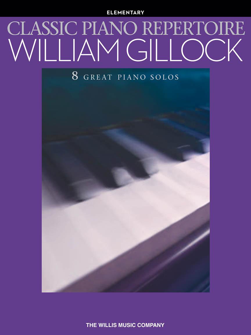 Product Cover for Classic Piano Repertoire – William Gillock