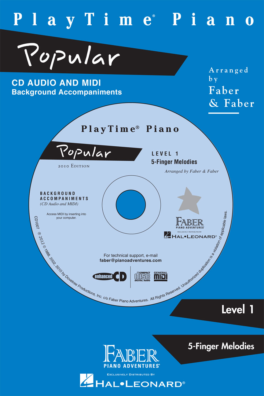 Product Cover for PlayTime® Piano Popular