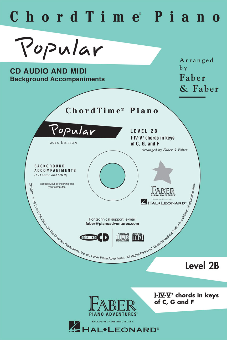 Product Cover for ChordTime® Popular Level 2B