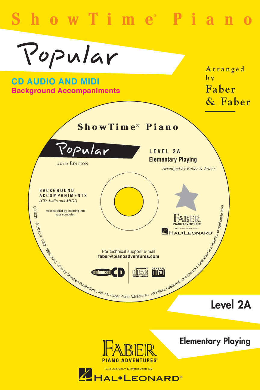 Product Cover for ShowTime® Piano Popular