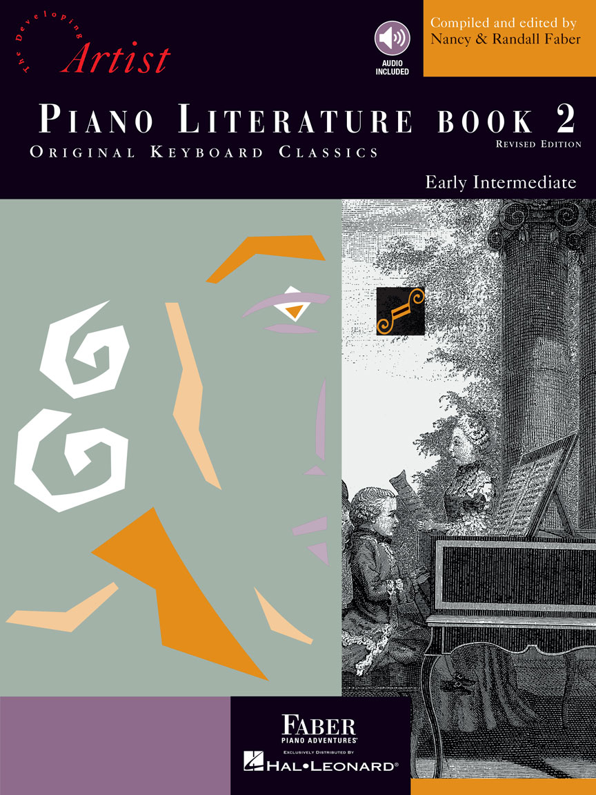 Product Cover for Piano Literature – Book 2