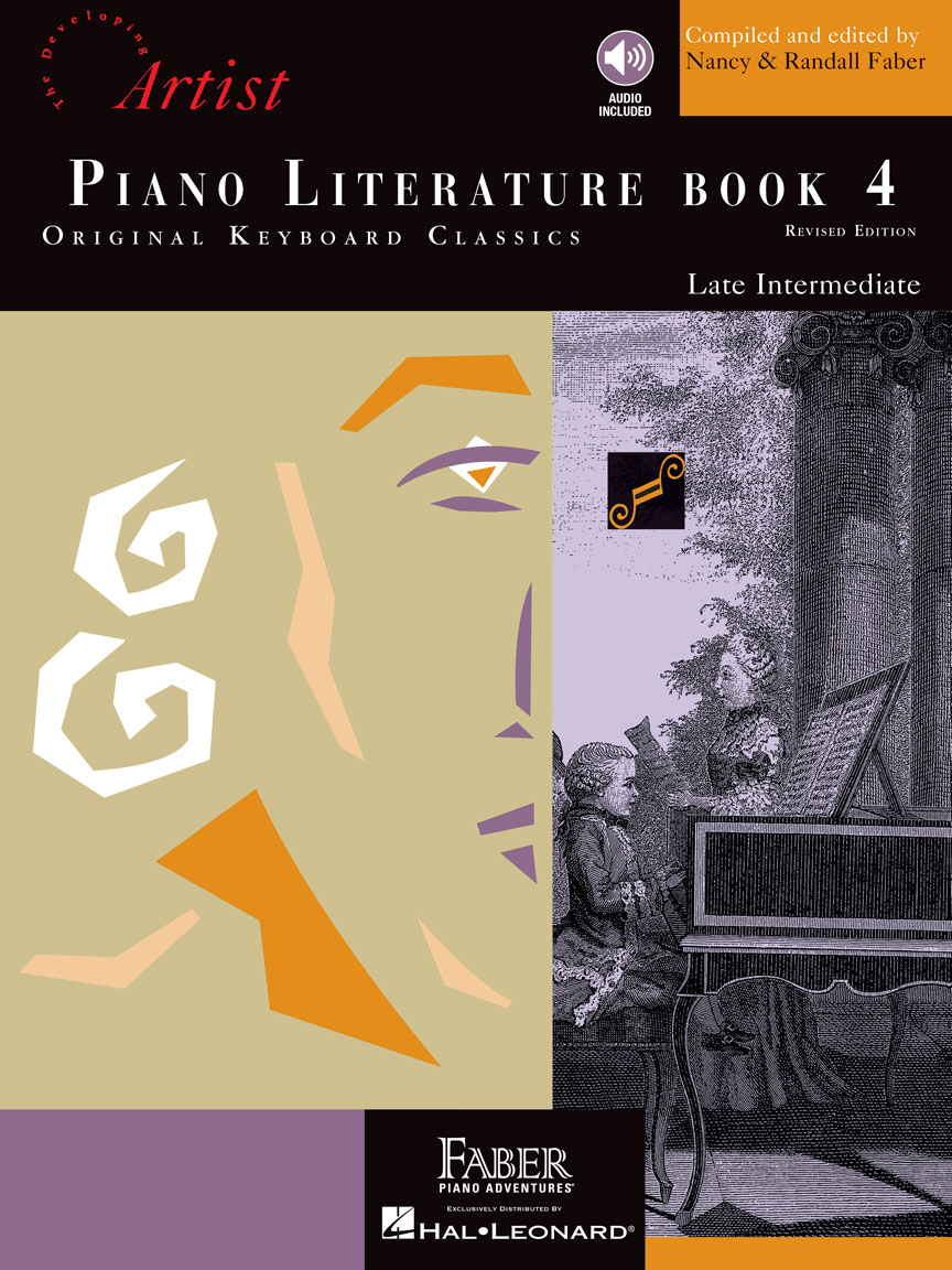 Product Cover for Piano Literature – Book 4