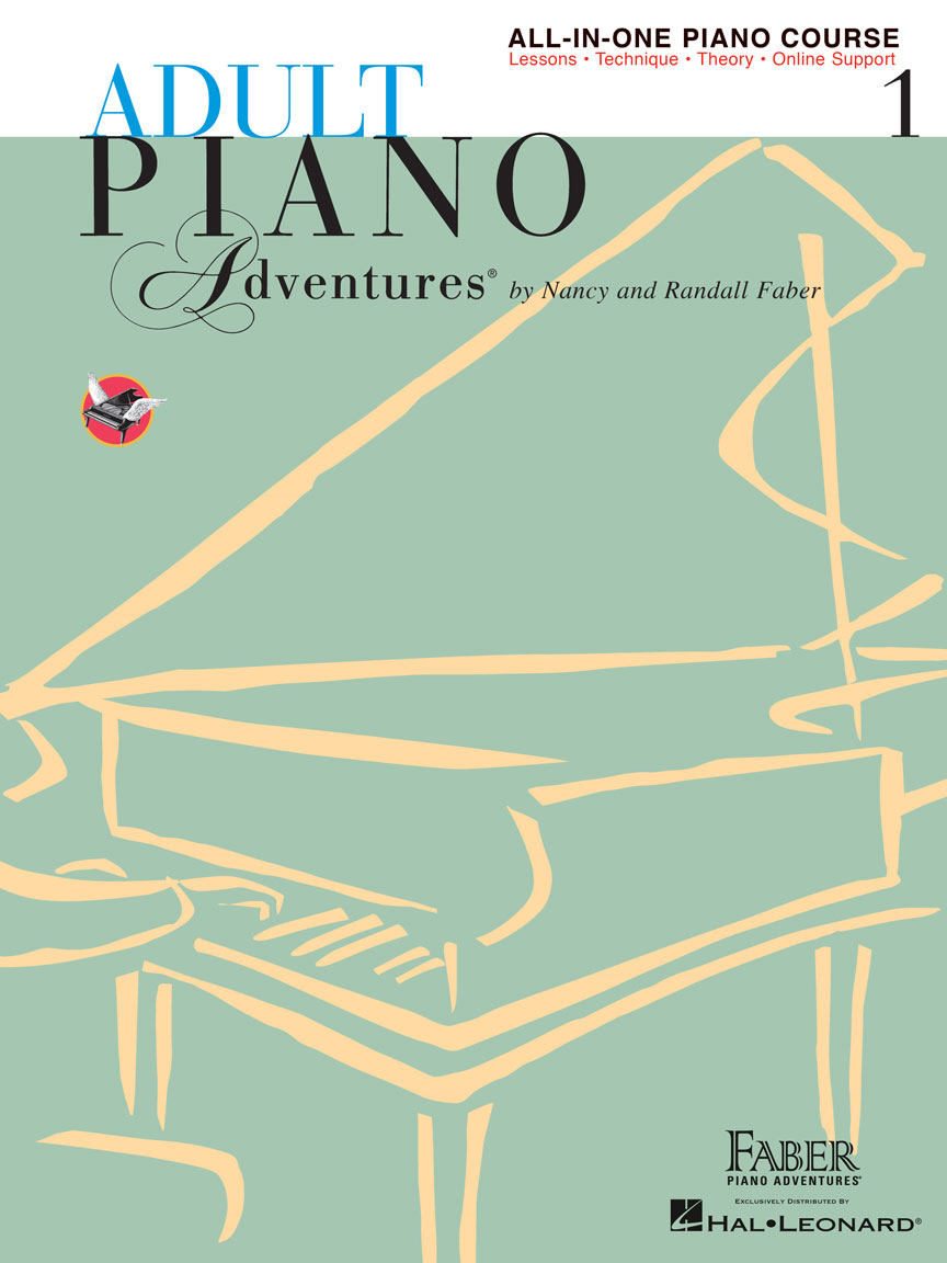 Product Cover for Adult Piano Adventures All-in-One Piano Course Book 1