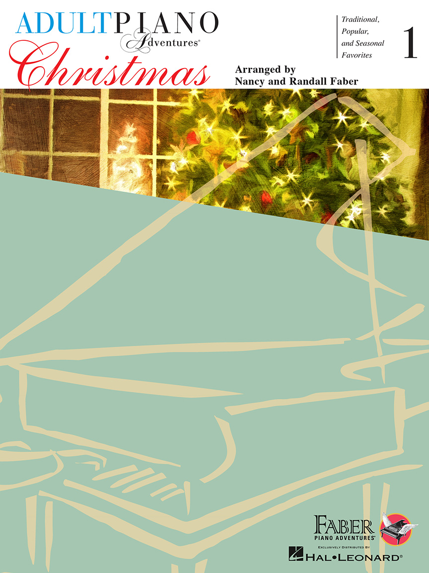 Product Cover for Adult Piano Adventures Christmas – Book 1