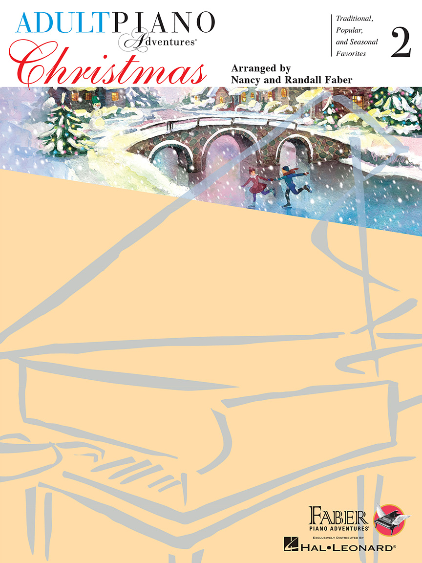 Product Cover for Adult Piano Adventures Christmas – Book 2