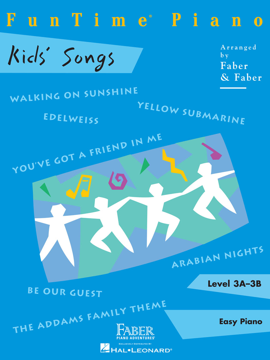 Product Cover for FunTime® Piano Kids' Songs