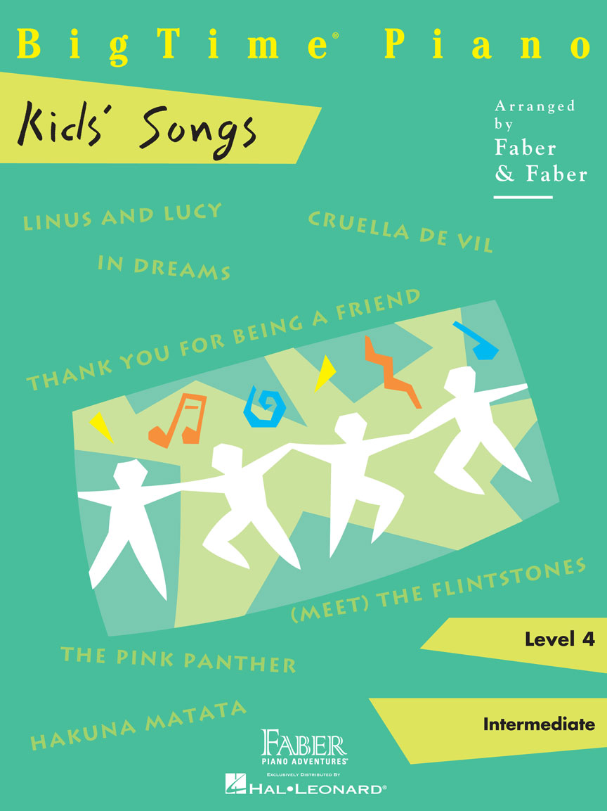 Product Cover for BigTime® Piano Kids' Songs