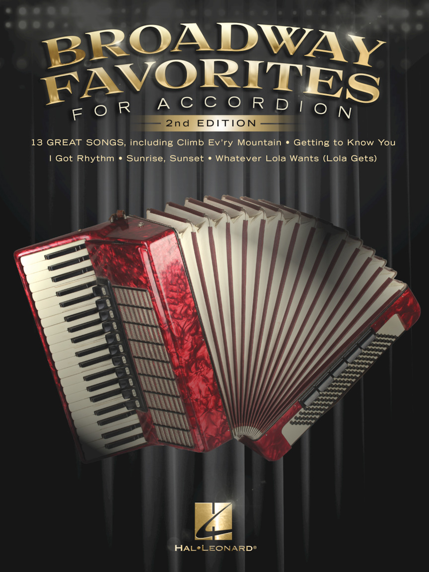 Product Cover for Broadway Favorites for Accordion – 2nd Edition
