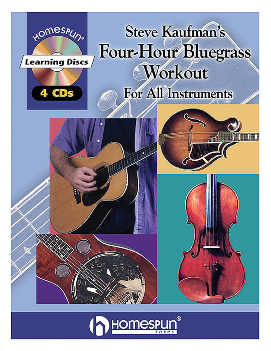 Product Cover for Steve Kaufman's Four-Hour Bluegrass Workout