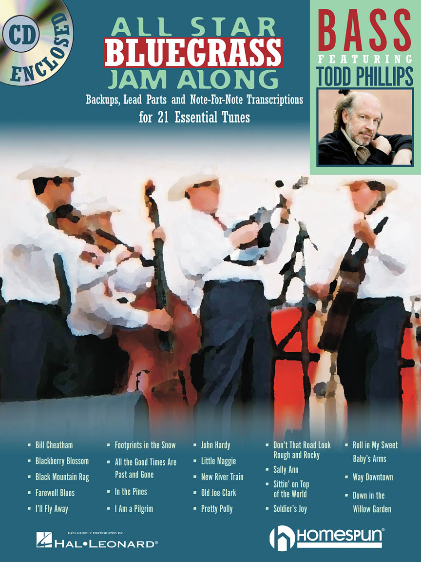 Product Cover for All Star Bluegrass Jam Along for Bass
