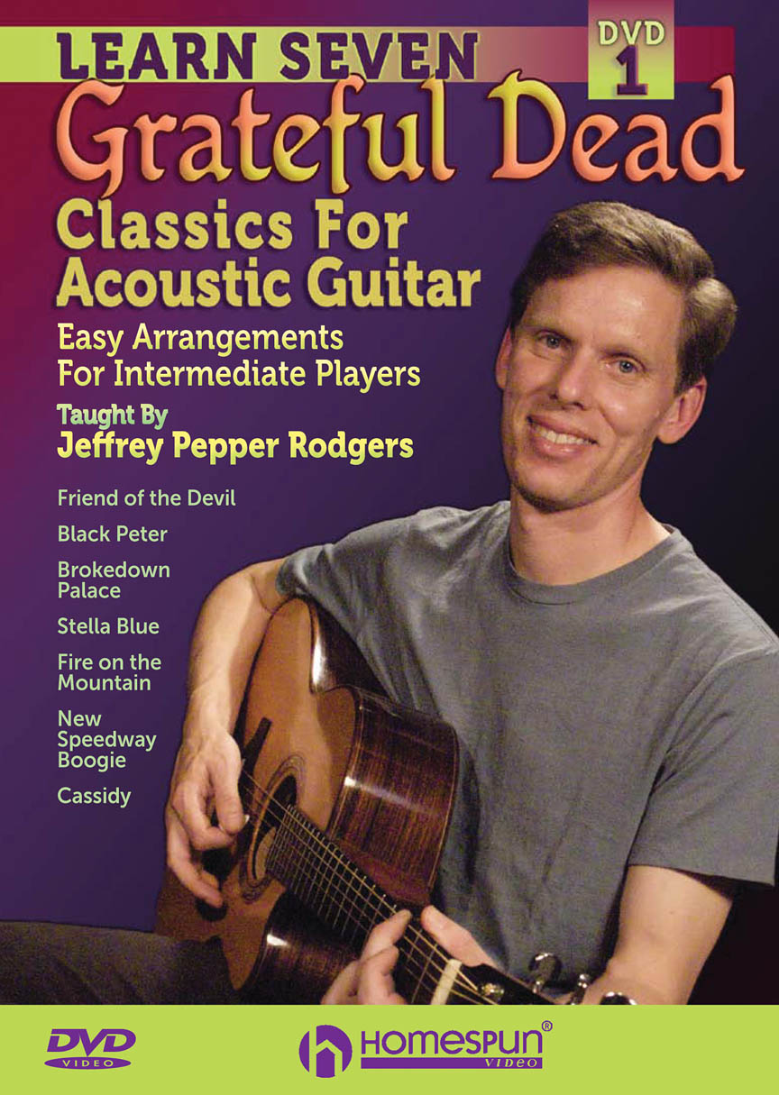 Product Cover for Learn Seven Grateful Dead Classics for Acoustic Guitar