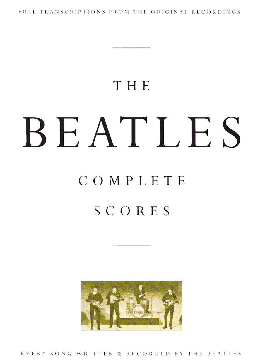 Product Cover for The Beatles – Complete Scores