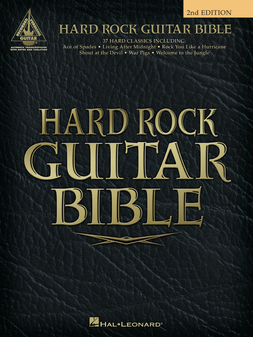 Product Cover for Hard Rock Guitar Bible – 2nd Edition